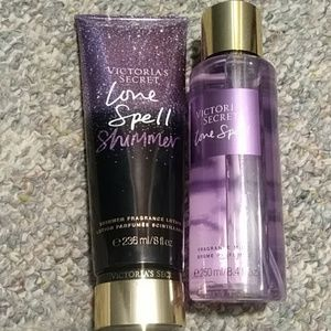 NWT Victoria's Secret Love Spell lot